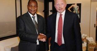 Diplomatische Ehren für Boris Becker