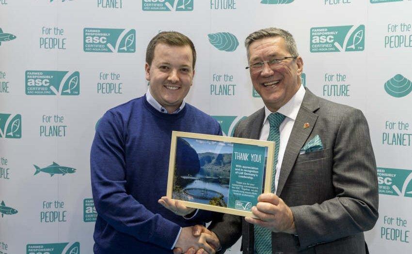 Lidl erhält Auszeichnung für nachhaltigen Zuchtfisch