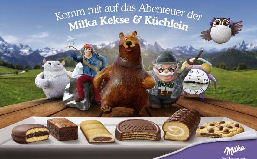 Das Abenteuer der Milka Keksdosen