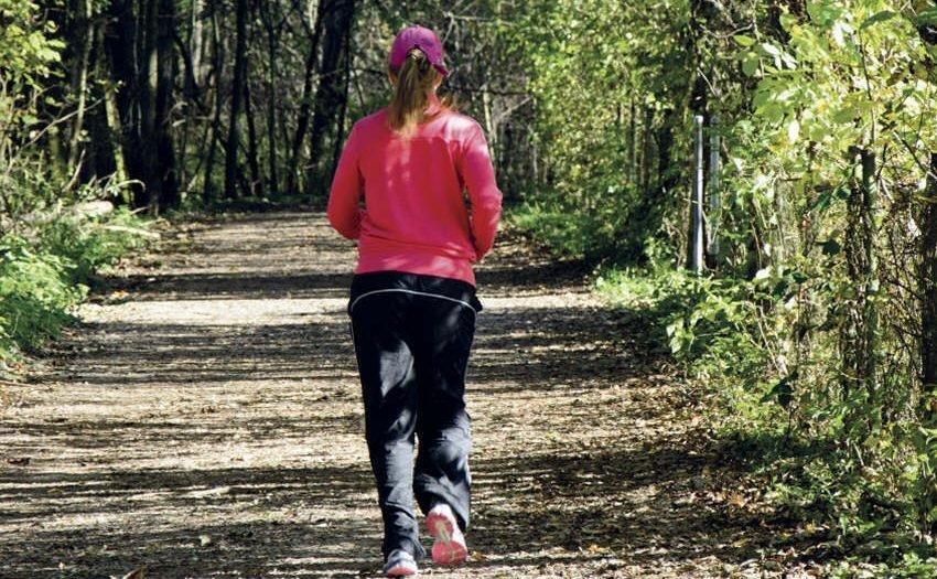 Fitness - großer Kick beim Laufen