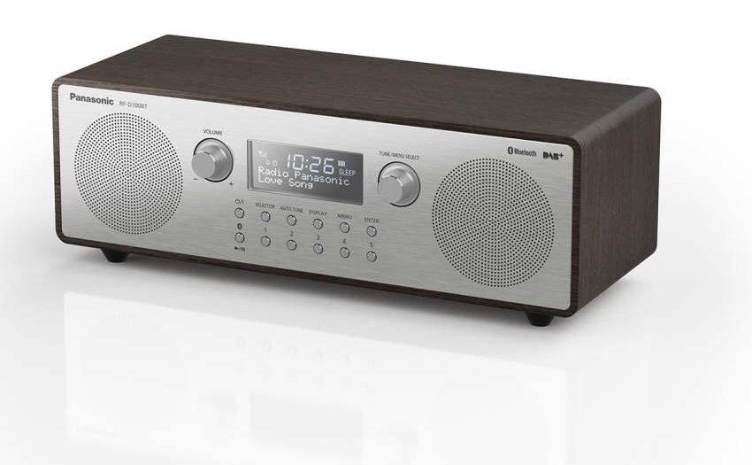 Panasonic Digitalradio im Retro-Stil