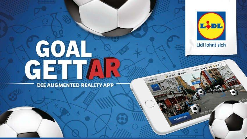 Zur Fußball-WM kostenlose App von Lidl