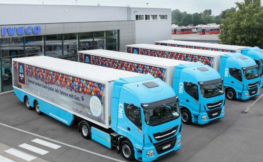 ALDI SÜD startet Langzeittest mit Erdgas-Lkw