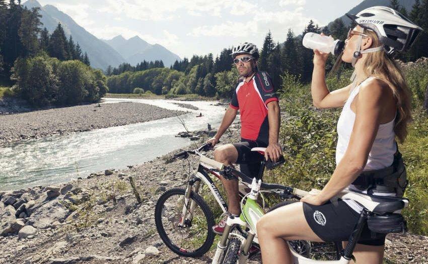 Radwandern und Mountainbiken im Lechtal