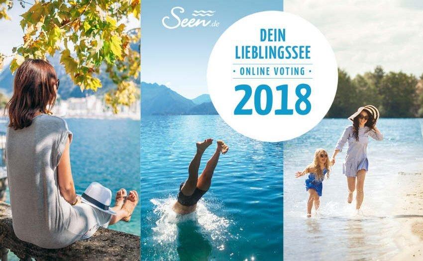 Seen.de sucht den Lieblingssee 2018