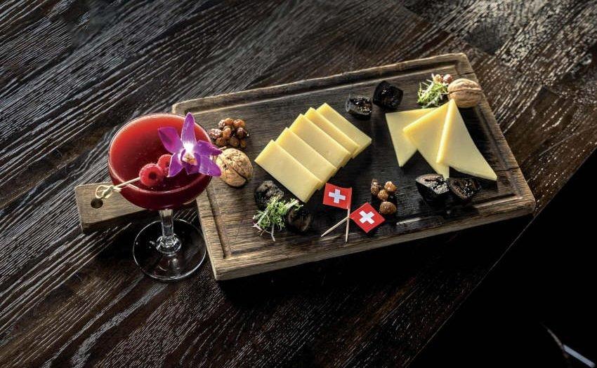 Verführerische Kombination mit Käse