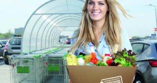 Plastikfrei einkaufen - Wellpappenbox statt Plastiktüte