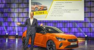 Neuer Opel Corsa-e startet ab 29.900 Euro
