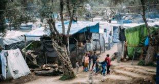 Coronavirus - Arbeit auf Lesbos aussetzen