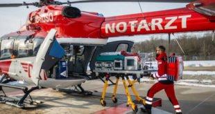EpiShuttles - DRF Luftrettung mit Isoliertragen