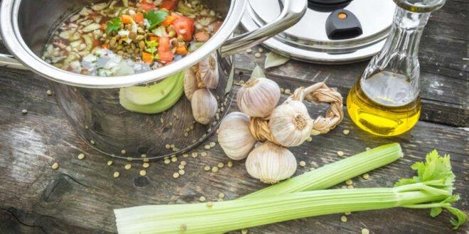 Gesunde Küche - Dampfgaren schont Inhaltsstoffe