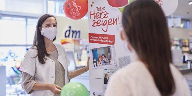 dm-Drogerie Markt - Großer Spendentag