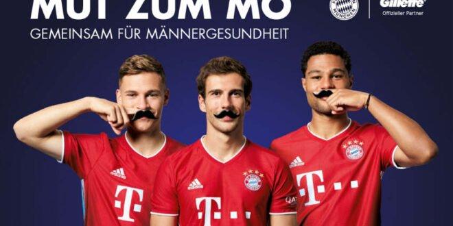 Gillette - neuer Partner der Movember-Stiftung