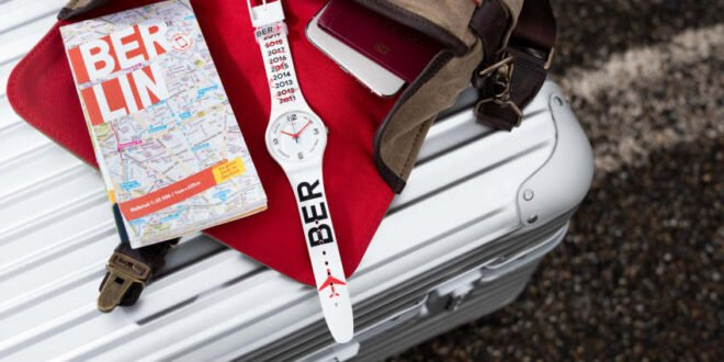 Swatch & BER Eröffnung - Uhr 9 Jahre Verspätung