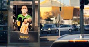 McDonald's - Plakatflächen in McDrive-Schalter