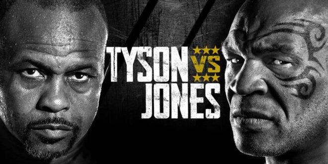 Mike Tyson gegen Roy Jones Jr. - der Showkampf