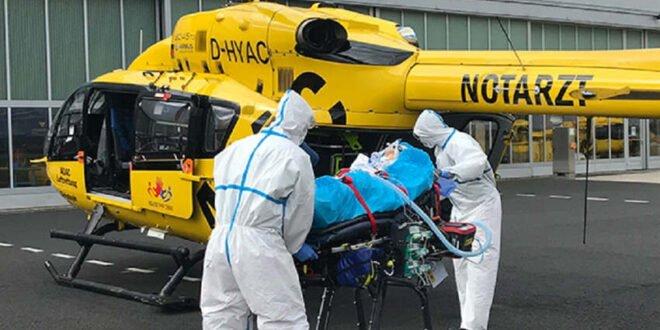 Transport von Corona-Erkrankten geprüft