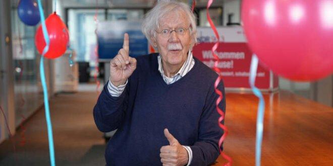 Carlo von Tiedemann 50 Jahre beim NDR